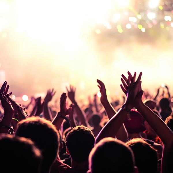 ultrasonic hands raised up