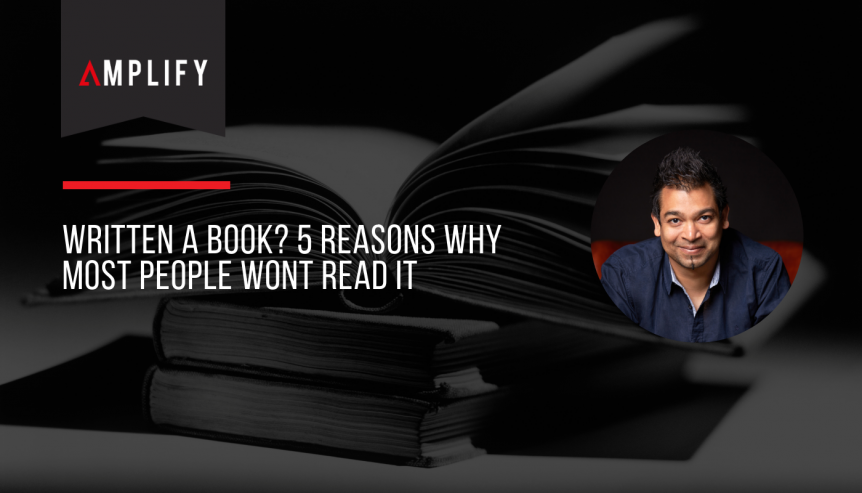 Written A Book 5 Reasons Why Most People Wont Read It