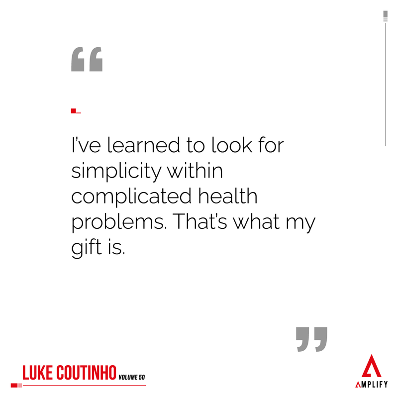 "Quote: ""I've learned to look for simplicity within complicated health problems. That's what my gift is."""