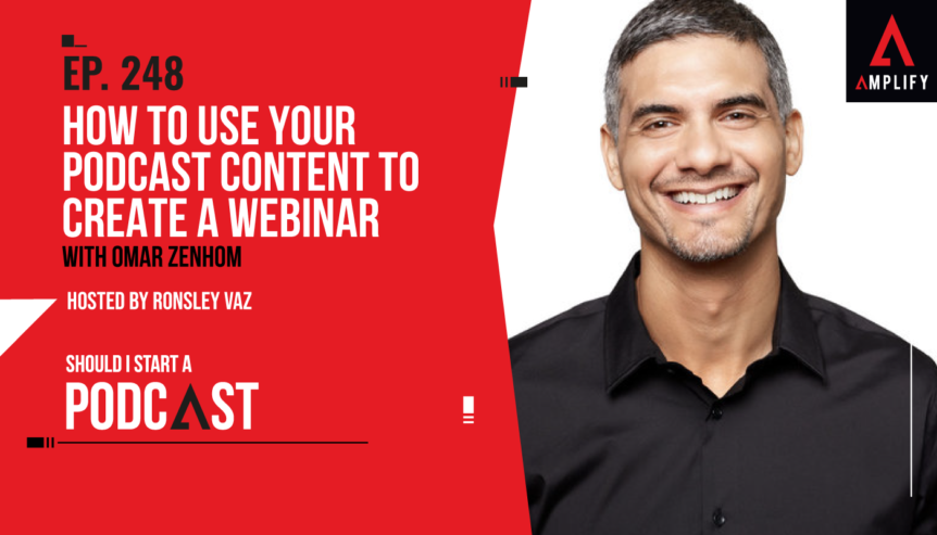 248. How to Use Your Podcast Content to Create a Webinar with Omar Zenhom