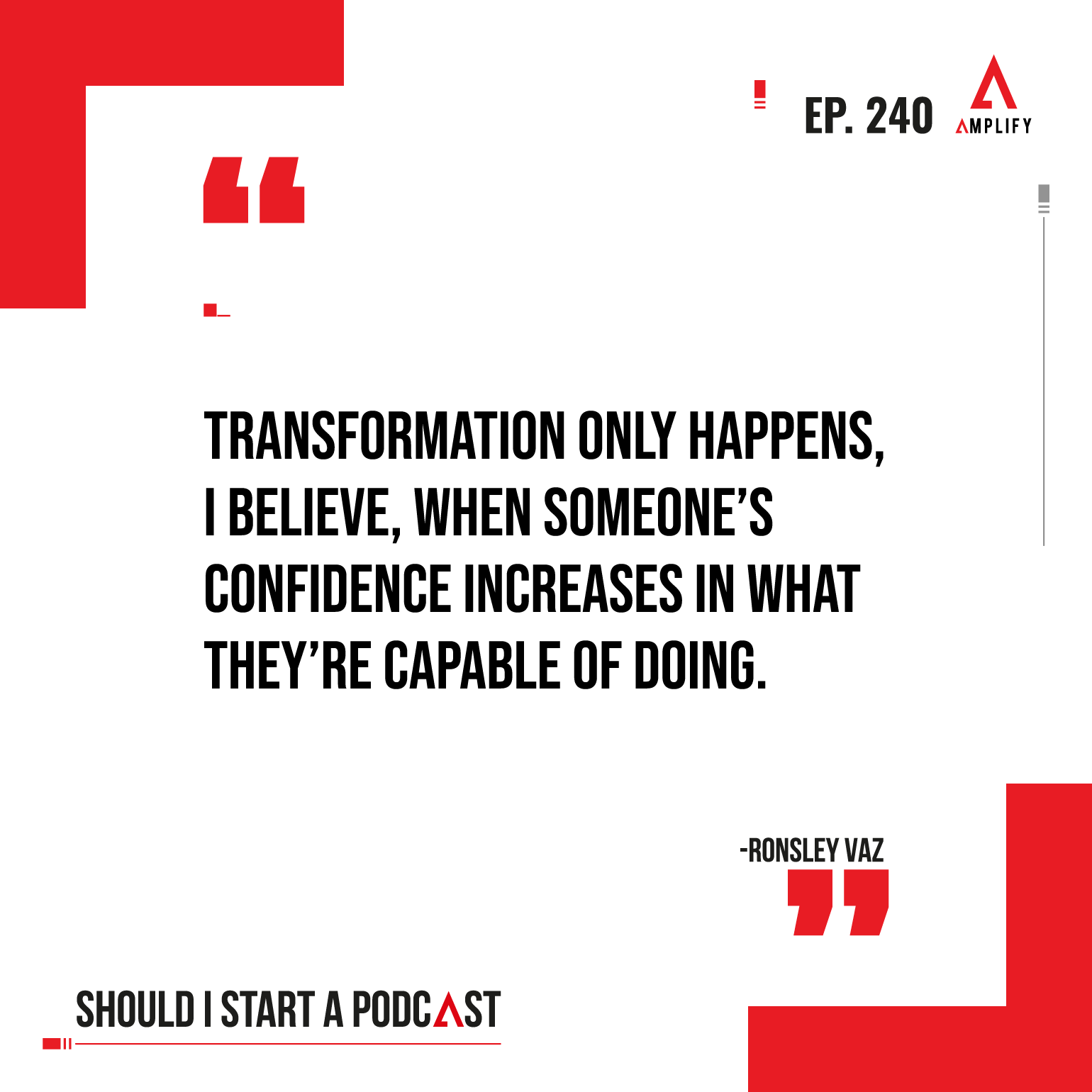 Quote from the podcast episode